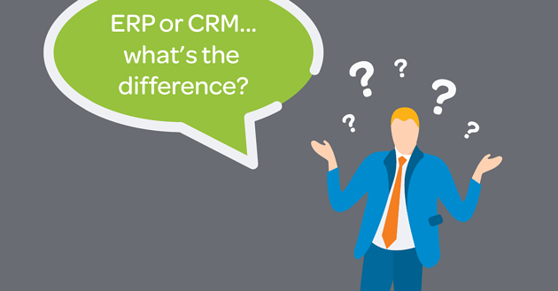 ERP vs CRM Software – What's the Difference?