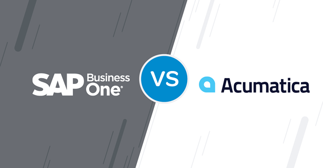 SAP Business One vs Acumatica [ERP Comparison for SMEs]