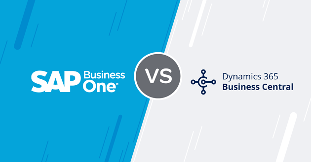 SAP Business One vs Microsoft Dynamics 365 Business Central