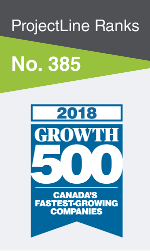 [Ad] ProjectLine Ranks No. 385 on 2018 Growth 500
