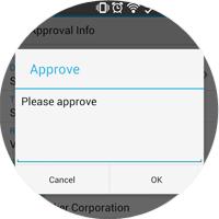 SAP Business One Mobile Alert