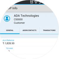 SAP Business One Mobile Customer