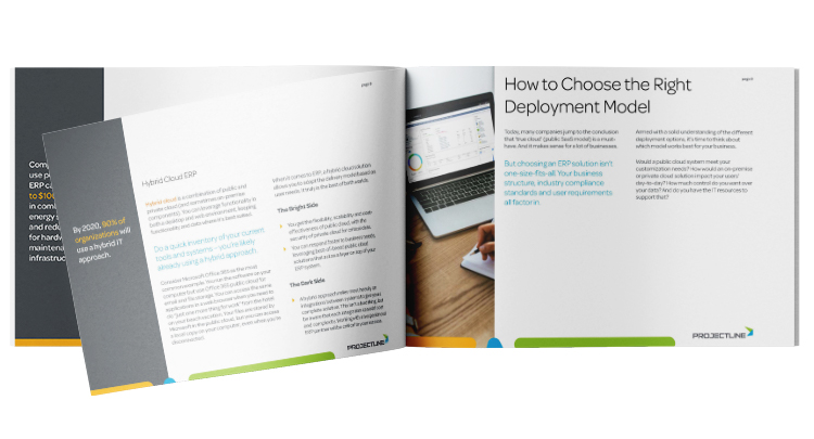 The SME Guide to Cloud ERP: How to Choose Between Public, Private and Hybrid Cloud ERP