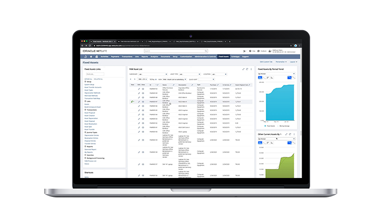 NetSuite Fixed Assets Demo