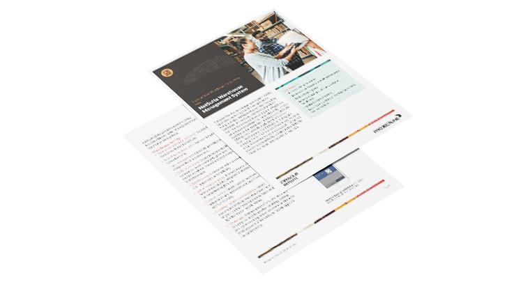 Data Sheet: NetSuite WMS