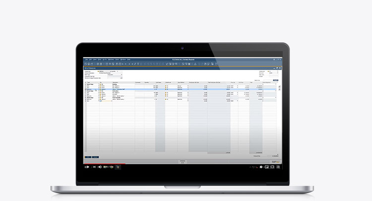 Video - SAP Business One Production BOMs