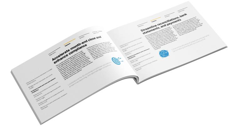 SAP Business One Financial Management Solution Brief